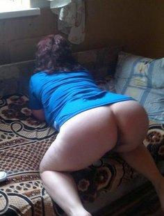 Подборка больших задниц и бритых вагин