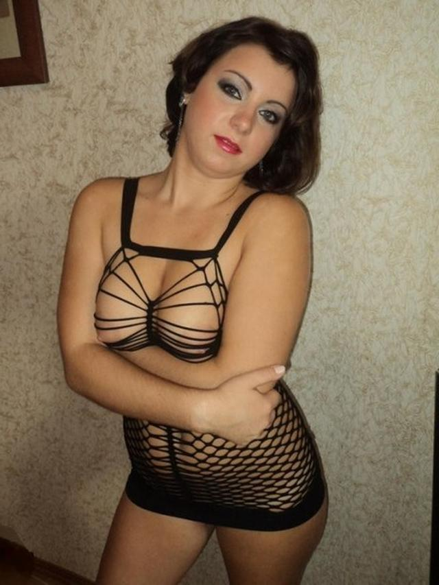 Коллекция эро снимков грудастых девок из Вконтакте 4 фото