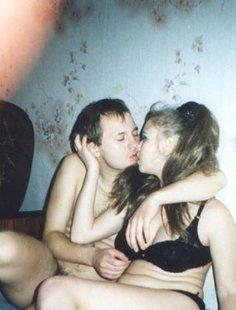 Откровенные снимки влюбленных пар из 80х