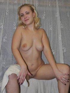 Интимная жизнь молодой блондинки из Читы