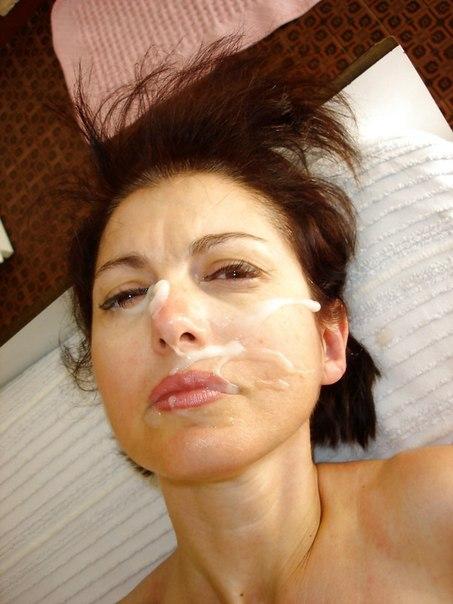 Подборка красоток со спермой на лице с закрытого форума 19 фото