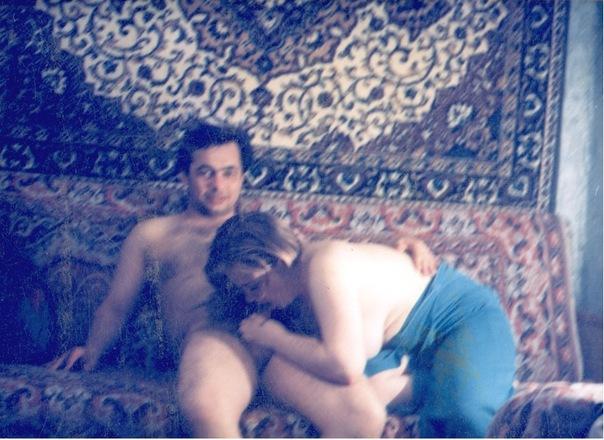 Отсос и любительский секс на хате в 90е 22 фото