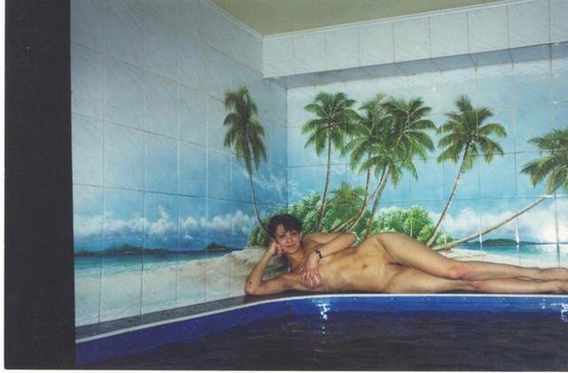 Ретро подборка голых девиц и женщин в сауне и бане 7 фото
