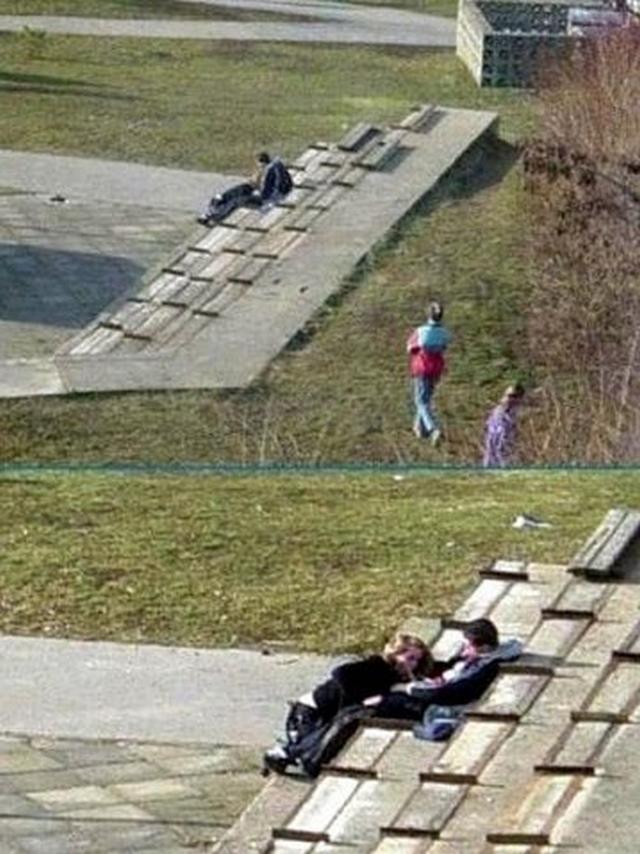 Развратные пары трахаются в публичных местах и на природе 9 фото