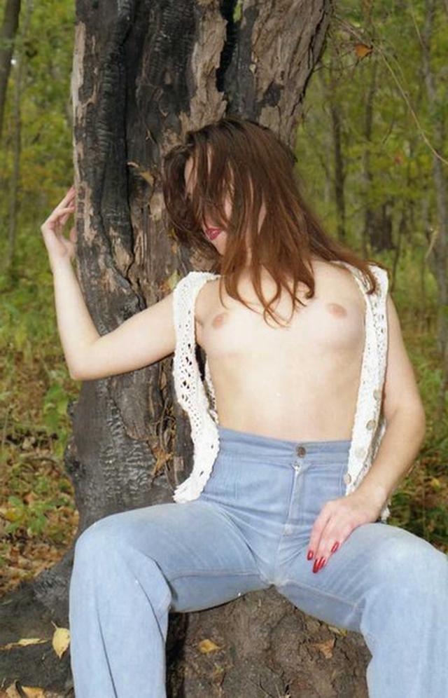 Сборник стройных нудисток на природе 9 фото
