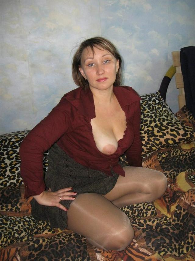 Подборка домашней эротики стройных мамаш из Твиттера 3 фото