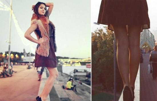 Частные снимки 18-летней эро-модели из России 8 фото