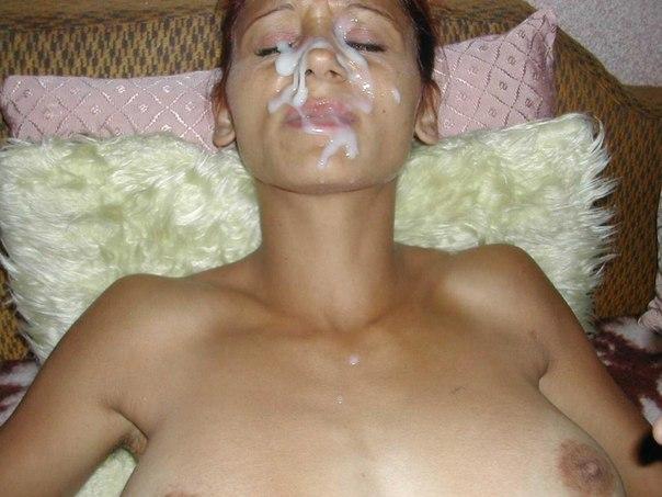 Развратные давалки делают минет и получают сперму на лицо 11 фото
