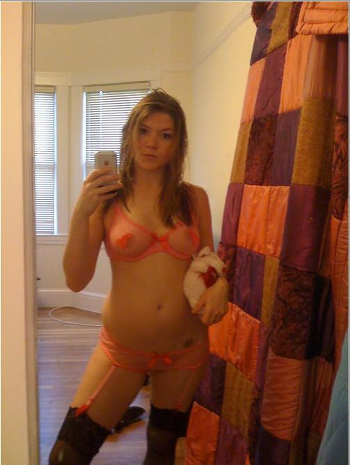 Подборка селфи голых девушек от 18 лет 5 фото