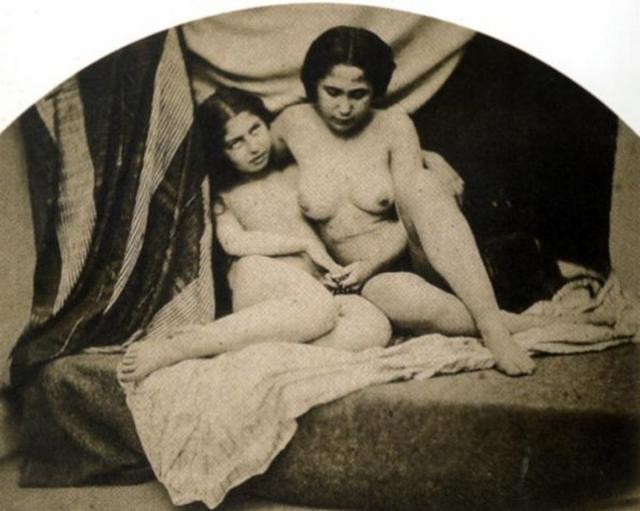Сборка ретро картин и произведений искусства с обнаженкой и сексом