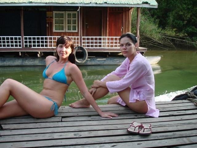Отдых двух лесбиянок за 30 в Таиланде 13 фото