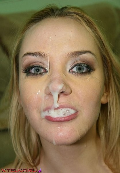 Гламурные девки делают минет и размазывают сперму по лицу 8 фото