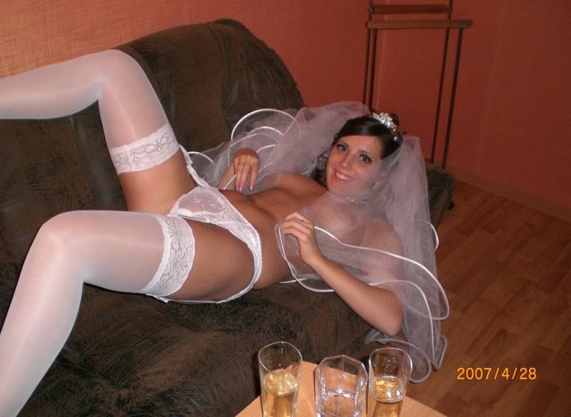После свадьбы молодожены из Киева натрахались всласть 5 фото