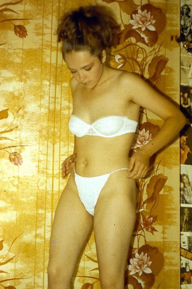 Ретро снимки блондинки из СССР с волосатой писей 20 фото